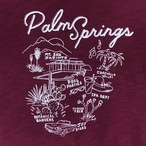 Old Navy Palm Springs T-Shirt/ XS